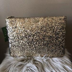 NWT Kate Spade Gia Sparkler clutch bag